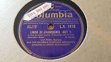 Lily Pons Linda di Chamounix o luce di quest anima & Rigoletto Columbia LX1418