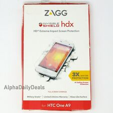 ZAGG Invisible Shield HDX Glass Full Screen Protector HTC One A9