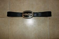 Dsquared² Runway SIGNATURE OVAL Leather Belt Cintura S FW/05-06,ULTRARARE