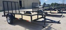 2019 5' X 10' GENERAL DUTY UTILITY TRAILER     **PICKUP IN ARCADIA, FL ONLY**