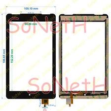 "Vetro Touch screen Digitizer 7,0"" TrekStor SurfTab Ventos 7.0 HD ST70208-1 Nero"