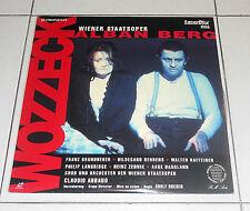 LaserDisc WOZZECK Alban Berg CLAUDIO ABBADO LD dvd Laserdisc