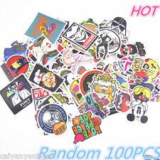 100pcs lot of Sticker Bomb Decal Vinyl Roll Car Skate Skateboard Laptop Luggage