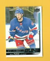 D18338  2018-19 Upper Deck #212 Neal Pionk YG YOUNG GUNS ROOKIE
