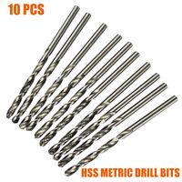 10/20PCS HSS Drill Bits Bit 0.3 0.4 0.5 0.6 0.7 0.8 0.9 mm Steel Aluminium wood