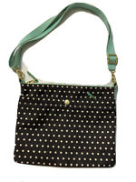 Mini Boden  Backpack Book Bag ~Blue With Large White Polka Dots ~ New In Package