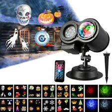 Christmas Halloween Holiday LED Laser Light Projector House Landscape Outdoor US