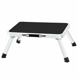Folding Steel Step Stool One Step Ladder with Built-in Handle Drive Medical