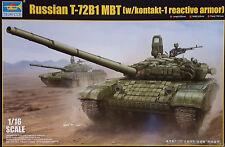 TRUMPETER® 00925 Russian T-72B/B1 MBT (w/Kontakt-1 Reactiv Armor) in 1:16