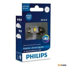 PHILIPS X-tremeVision C5W LED Lampadina interna 12V T10 38mm 6000K Single