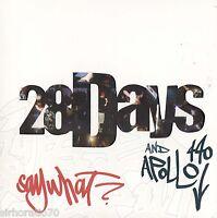 28 DAYS & APOLLO 440 Say What? CD - Die-cut Cover