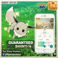 Pokémon GO ✨Shiny Eevee✨ GUARANTEED CAPTURE Vaporeon Flareon Jolteon Umbreon etc