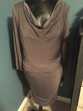 Nine West NWT $124 Dress Sable Funkytown Army Green Size 6
