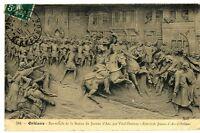 CPA 45 Loiret Orléans Bas relief  Vital-Dubray Entrée de Jeanne d'Arc à Orléans