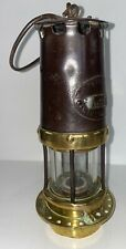 Very Old W. E. Teale, Swinton, Coillery Miners Pit  lamp