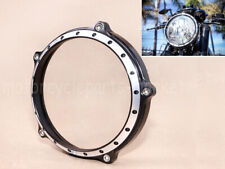 "5 3/4"" CNC Headlight Bezel Trim Ring Cover Cap For Harley Sporster XL 2004-2014"