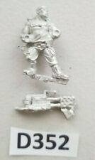 GW 40k Imperial Guard Astra Militarum Catachan Heavy Flamer Trooper Metal