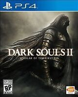 Dark Souls II: Scholar of the First Sin - PS4 - NEW FREE USA SHIPPING