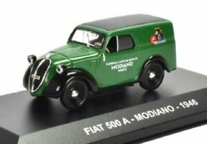 fiat 500 A MODIANO 1946 fourgonnette 1:43 Voiture miniature Atlas