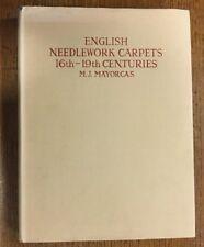 ENGLISH NEEDLEWORK CARPETS 16TH TO 19TH CENTURIES., Mayorcas, M. J., Used; Very
