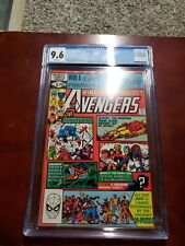 Avengers Annual 10 CGC 9.6 1st Rogue White pages
