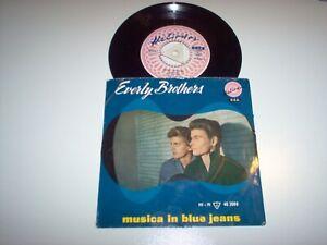 Everly Brothers  ep musica in blue jeans 45giri leggi tutto