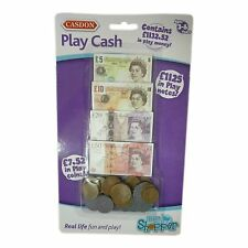 Casdon Toy Play Cash Coins Money & Notes Toy Role Play Pretend Shop Money NEW