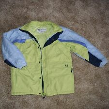 Columbia girls winter coat green and blue size 10-12