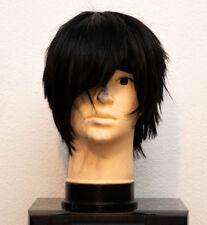 ASSIST Cosplay Japanese Black Wig for Izaya Orihara (Short)
