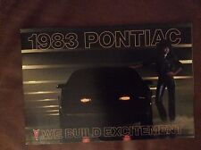 1983 Pontiac Full Line Sales Brochure