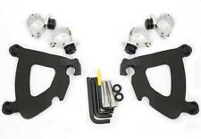Memphis Shades Trigger-Lock Mount Kit for Gauntlet Fairing  Black MEB1993*