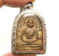 PHRA SOOMGOR POWERFUL THAI BUDDHA AMULET MONEY RICH LUCKY HAPPY SUCCESS PENDANT