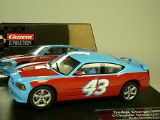 Carrera Evolution Dodge Charger srt 8 petty promo car 27331 NEUF