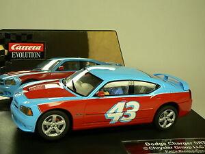 Carrera Evolution Dodge Charger SRT 8 Petty Promo Car 27331 New