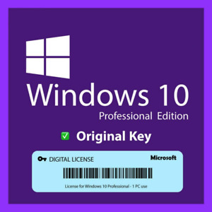✅WIN®10 PRO LICENSE®KEY INSTANT🔥Activation Directly System Lifetime✅