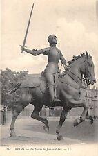 BF40910 reims france statue de jeanne d arc   Famous People World leaders