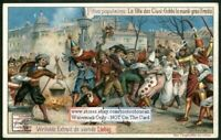 Ciusi-Gobbi Mardi Gras In Trient c1903 Trade Ad Card