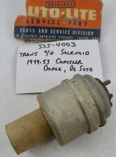 1949 1950 1951 1952 1953 Chrysler Desoto Dodge NOS MOPAR Trans Overdrive Solenoi