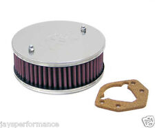 KN BOLT ON AIR FILTER (56-9155) FOR STROMBERG 175 CD, CENTRE HOLE (56 MM H)