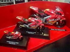 New Ray Gresini Honda RC211V 2006 Gift set 1:32 / 1:18 / 1:12 #24 Toni Elias