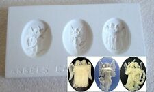 Ceramic Mold  - Angel Cameos - Polymer Clay, Ceramic or Porcelain Slip