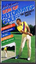 BOB MANN'S SON OF AUTOMATIC GOLF - THE SPECIALTY SHOTS (1990 VHS)