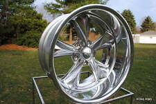 """18x8"""" FOOSE """"NITROUS"""" 2 PIECE CUSTOM WHEELS FORD CHEVY DODGE BUICK OLDS f201"""