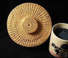 Mayan (Quiche) Lidded Basket Punta Gorda Belize 1992