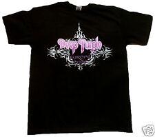 Rara vez Official Deep Purple Europe 2008 Tour culto banda estrella de rock VIP t-shirt g.s