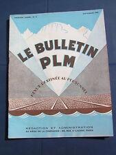 bulletin PLM 1929 5 CLERMONT FERRAND VICHY SAINTES MARIES DE LA MER