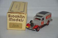RARE !! DODGE Van Burma Shave Brooklin BRK. 16 1936 1/43
