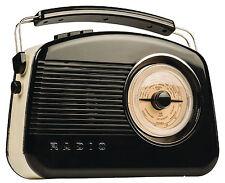 KONIG DAB AM/FM Elegante Tavolo Retrò Radio-Nuovo in Confezione