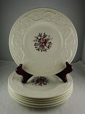 6 Wedgwood China Swansea Patrician Salad or Dessert Plates