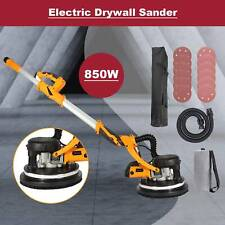 Extendable Drywall Sander 850w 12 Sanding Disks With Integrated Vacuum System